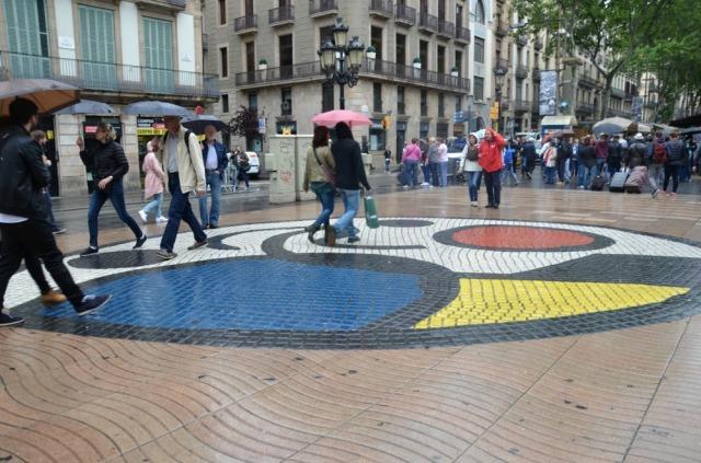 Barcelona Miro mural