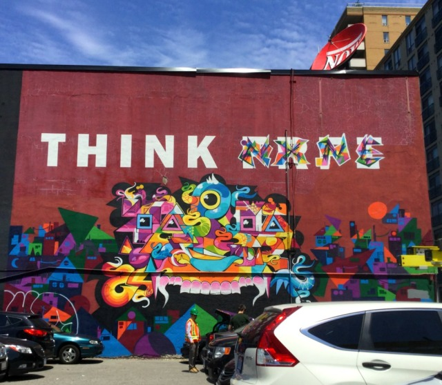 Toronto - NXNE graffiti