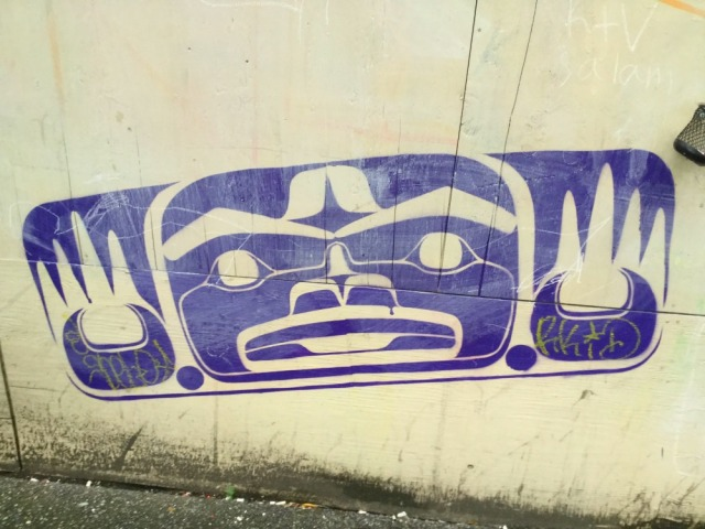 Vancouver - first nations graff