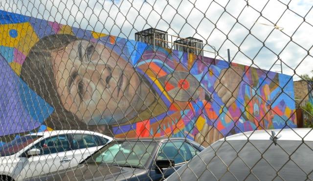 Miami - solemn face graff