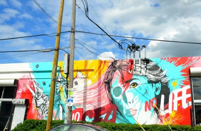 Miami - no life graffiti