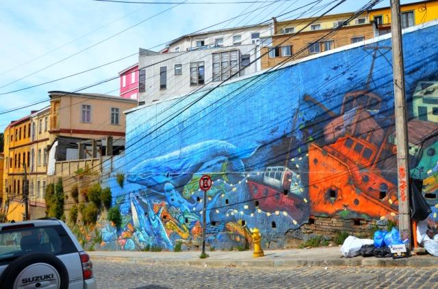 Chile - Valparaiso whale