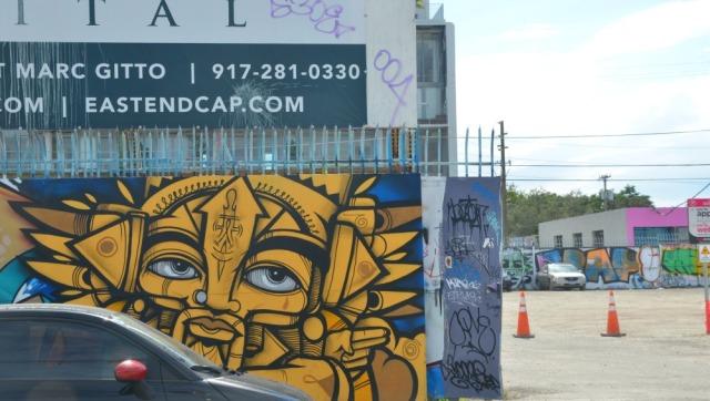 Miami graffiti eyes
