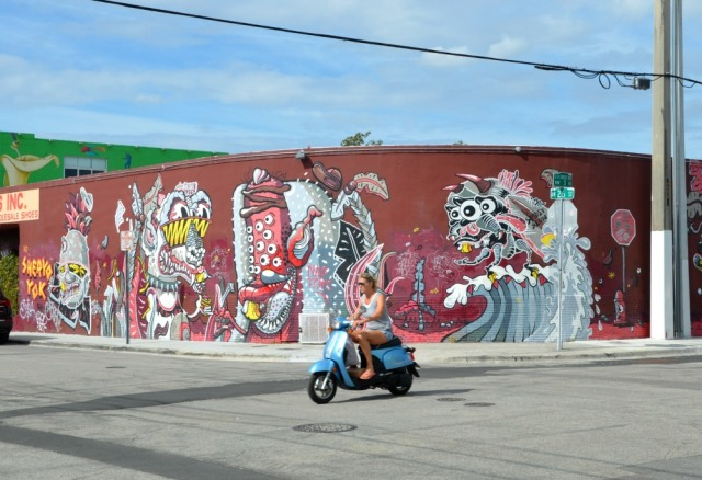 Miami - monster graff