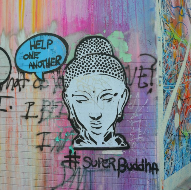 Miami - buddha graff