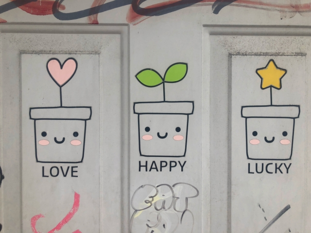 love happy lucky