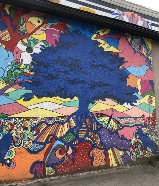 Van mural c